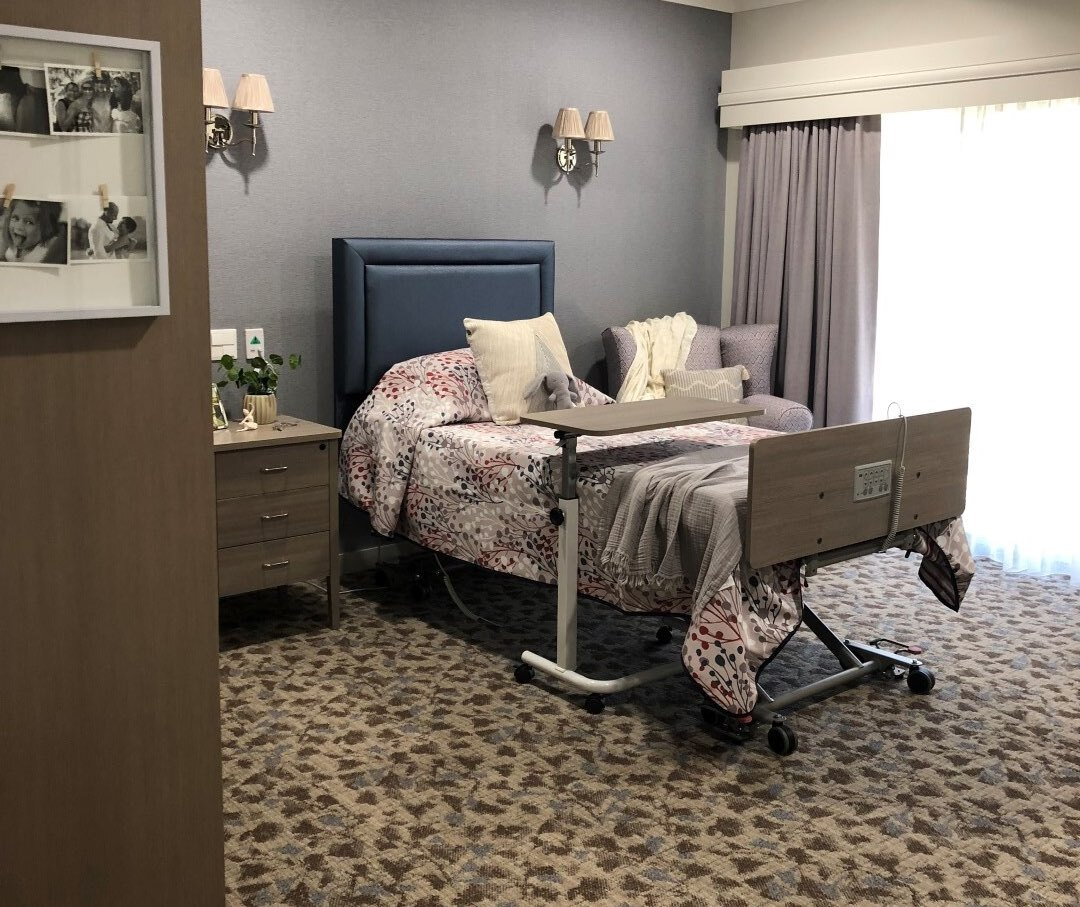 Signature Care's Single Room - Interconnecting