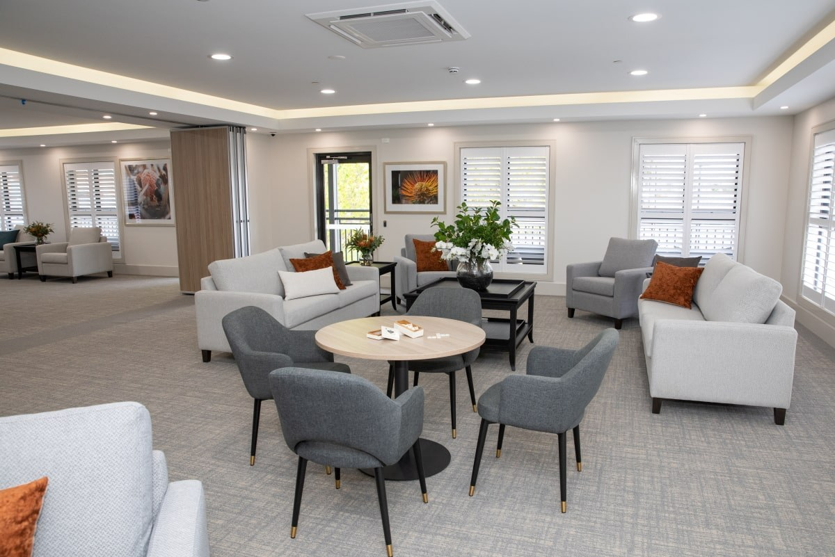 Langwarrin Community Aged Care Open Living Areas