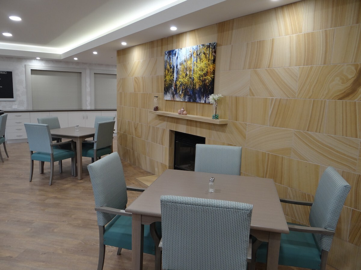 Signature Care's Dining Room