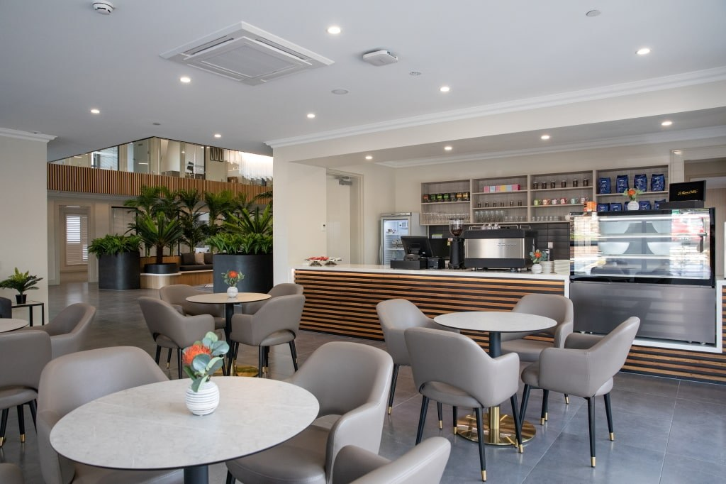 Langwarrin community aged care cafe coffee lounge area visit