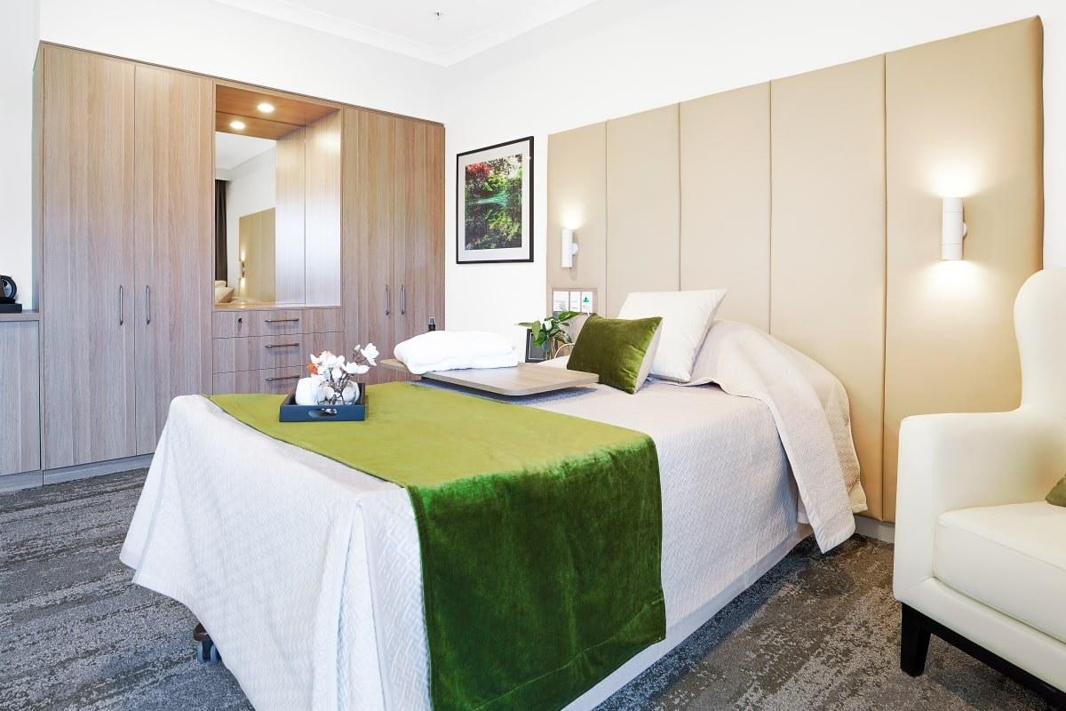 Narnagbaagedcare bedroom
