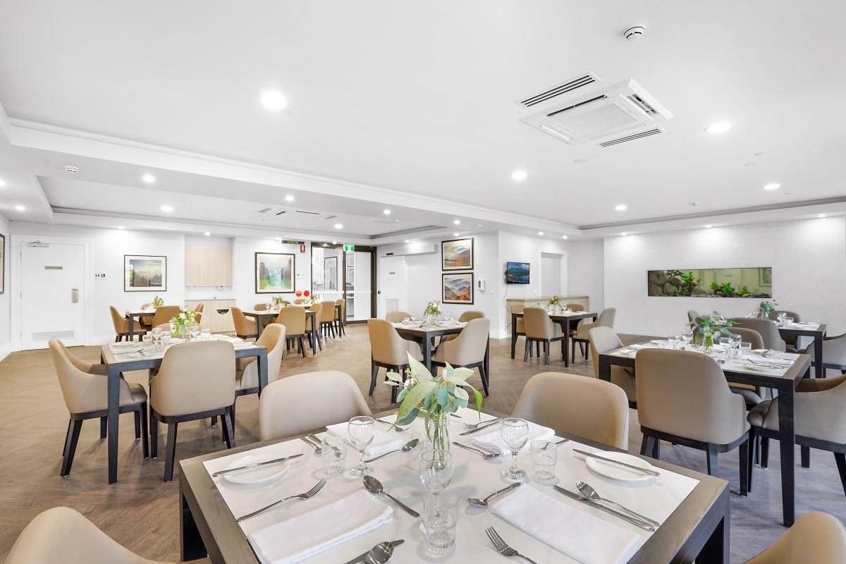 Narnagbaagedcare diningroom